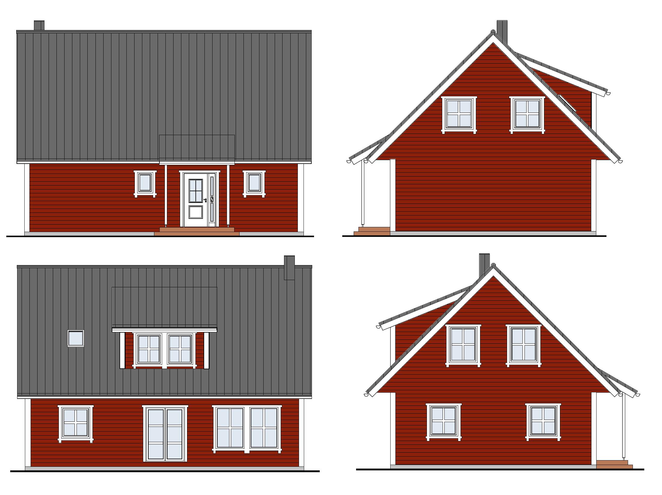 schwedisches holzhaus schwedenhaus bauen. Black Bedroom Furniture Sets. Home Design Ideas