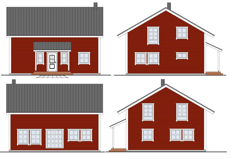 Schwedenhaus sch nes vorstadthaus mit skandinavischem flair for Nordisches haus bauen