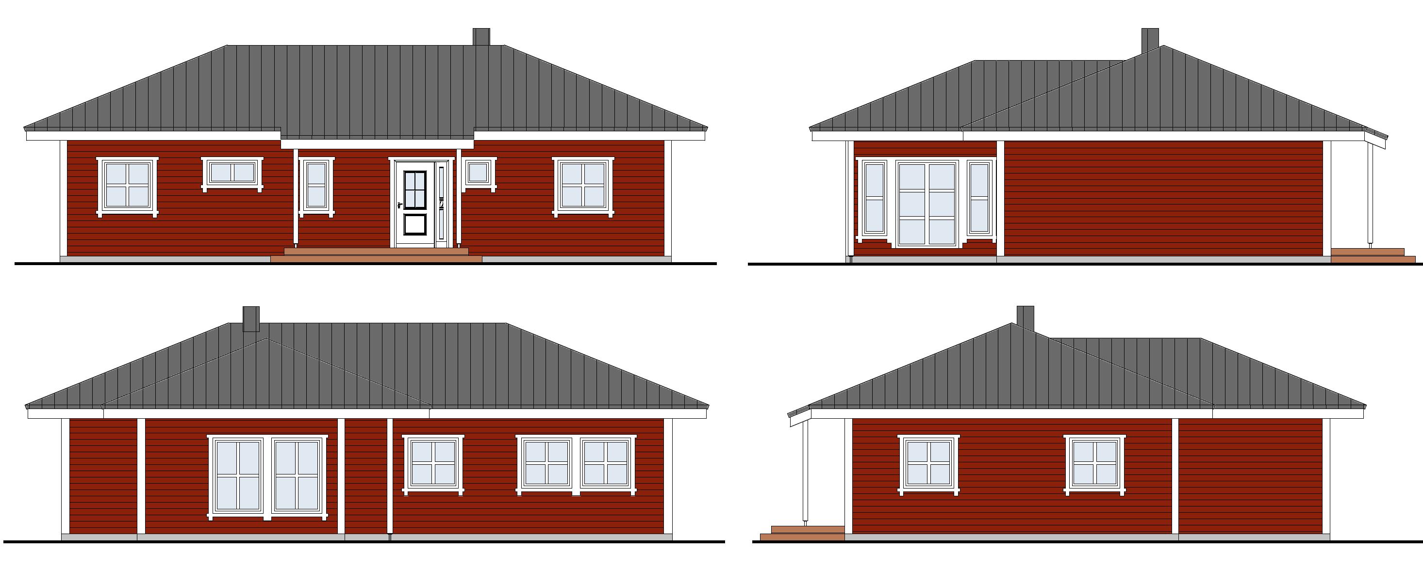 bungalow, schwedenhaus bauen!